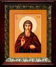 Виталий Александрийский (19х22), темный киот