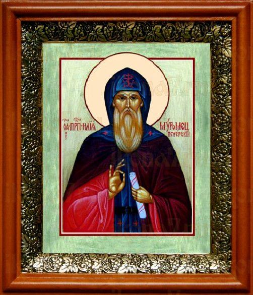 Илия Муромец (19х22), светлый киот