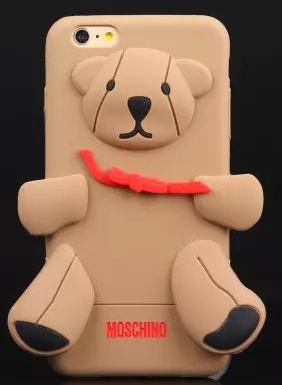 Чехол moschino медведь для iPhone 6/6s