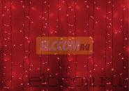"""Гирлянда """"Светодиодный Дождь"""" 2х1,5м, постоянное свечение, белый провод, 220В, диоды КРАСНЫЕ, NEON-NIGHT"""