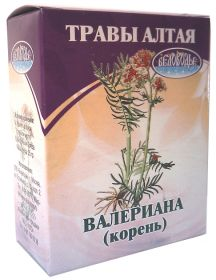 ВАЛЕРИАНА  (КОРЕНЬ ), 25 Г.  (БЕЛОВОДЬЕ)