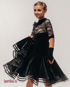Черное рейтинговое платье
