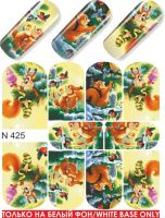Слайдер-дизайн  N425 (водные наклейки)