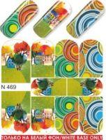 Слайдер-дизайн  N469 (водные наклейки)