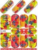 Слайдер-дизайн  N488  (водные наклейки)