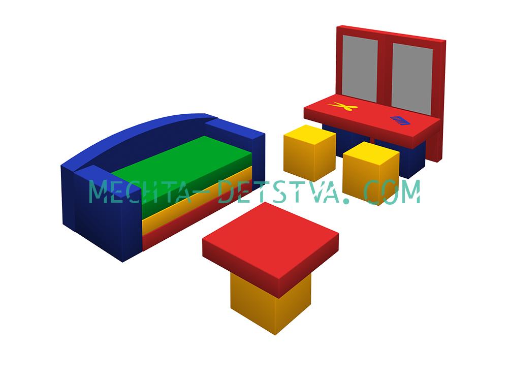 Игровой набор «Парикмахерская» ДМФ-МК-08.96.02