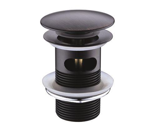 """WasserKraft А047 Донный клапан Push-up """"тёмная бронза"""""""