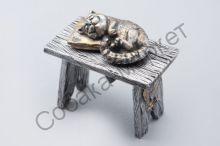 Спящая кошка статуэтка Россия
