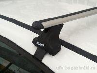 Багажник на крышy Toyota Prius, Атлант, аэродинамические дуги, опора E