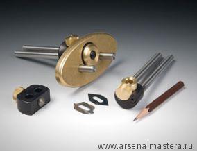 Резак для маркетри Veritas String Inlay Tool System с центр.иглой и держателем для карандаша 05K11.22 М00005817