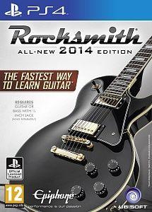 Игра Rocksmith 2014 + кабель для электрогитары (PS4)