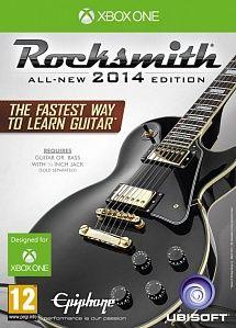 Игра Rocksmith 2014 + кабель для электрогитары (Xbox One)