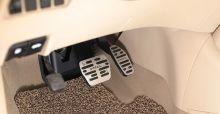 Накладки на педали, алюминиевые, а/м вариатором