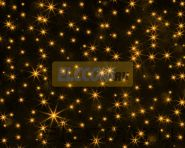 """Гирлянда """"Светодиодный Дождь"""" 2х6м, постоянное свечение, черный провод, 220В, диоды ЖЕЛТЫЕ, NEON-NIGHT"""