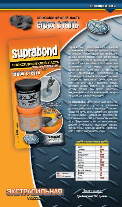 Эпоксидный клей-паста Suprabond Erpox