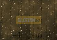 """Гирлянда """"Светодиодный Дождь"""" 2х3м, постоянное свечение, белый провод, 220В, диоды ТЁПЛО БЕЛЫЕ, NEON-NIGHT"""