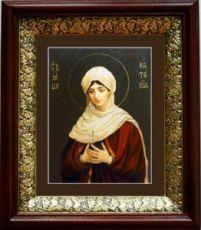 Наталия Никомидийская (19х22), темный киот