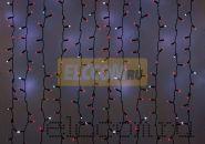 """Гирлянда """"Светодиодный Дождь"""" 2х3м, эффект мерцания, черный провод, 220В, диоды КРАСНЫЕ, NEON-NIGHT"""