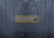 """Гирлянда """"Светодиодный Дождь"""" 2х9м, постоянное свечение, прозрачный провод, 220В, диоды БЕЛЫЕ, NEON-NIGHT"""