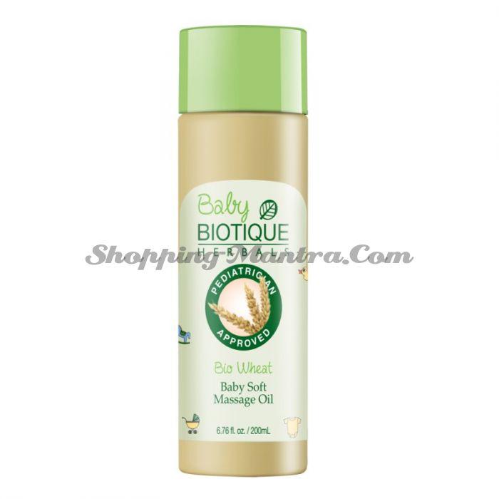 Биотик Зародыши пшеницы массажное масло для детей | Biotique Bio Wheat Germ Baby Soft Massage Oil