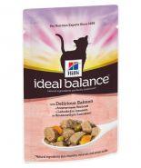 Hill's Ideal Balance Adult Для взрослых кошек с лососем и овощами (85 г)