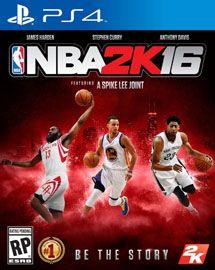 Игра NBA 2K16 (PS4)