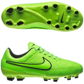 Детские бутсы NIKE TIEMPO GENIO LEATHER FG 630861-330 JR