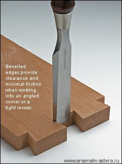 Стамеска 1шт 12 мм (1/2) Veritas Bench Chisel PM-V11 05S21.08 М00006559