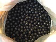 Шар резиновый  (пуля для травматического оружия) под патрон 10х28, диаметр 11.5 мм, тяжелые, вес 1.5 грамм, черный, упаковка 100 штук