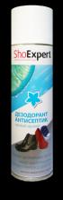 SHOExpert Дезодорант Антисептик для обуви  аэрозоль 250мл/12/