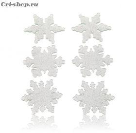 Новогодние наклейки «Снежная сказка»