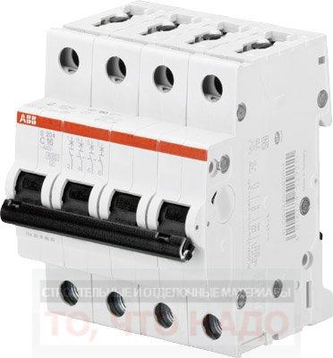 Автоматический Выключатель 40А 4Р ABB S204
