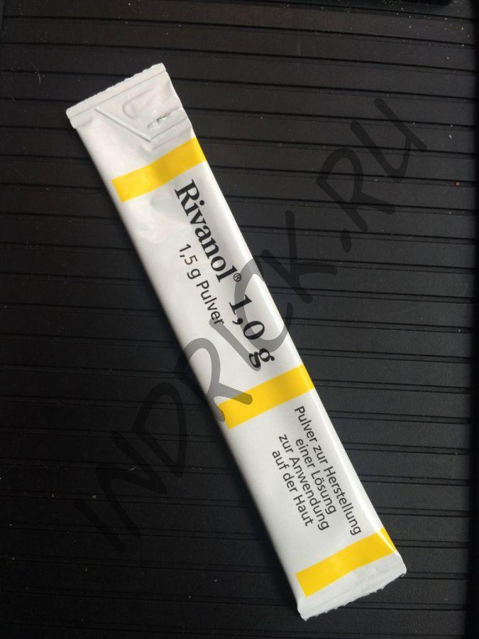 Риванол, пакет, 1 гр