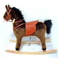 Лошадь-качалка с функцией движения и музыкой, L 90, W 31, H 78 см (арт. 604889)