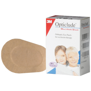 Оптиклюд (Opticlude) Глазные клеящиеся повязки