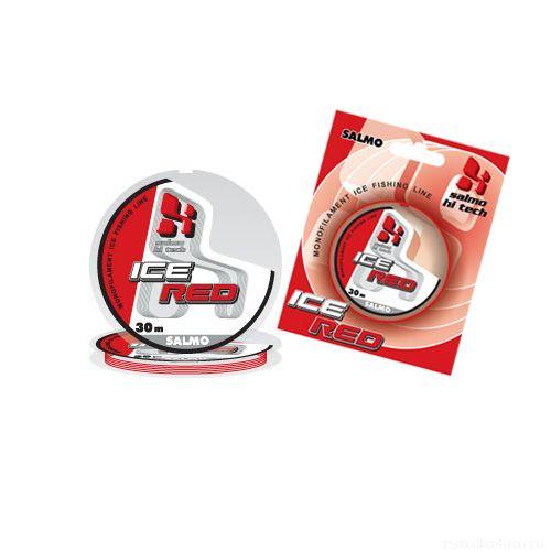 Купить Леска монофильная зимняя Salmo HI-TECH ICE RED 30м