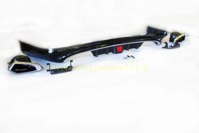 Аэродинамическая накладка на задний бампер губа LS для Toyota Land Cruiser 200