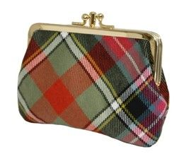 Шотландский кошелёк (клатч) тартан клана Брюс