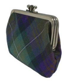 Шотландский кошелёк (клатч) тартан Айл оф Скай Isle of Skye