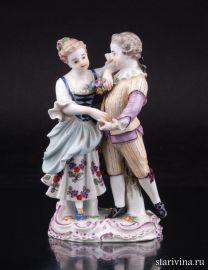 Танцующие дети, Meissen, Германия, кон. 19 в., артикул 01964