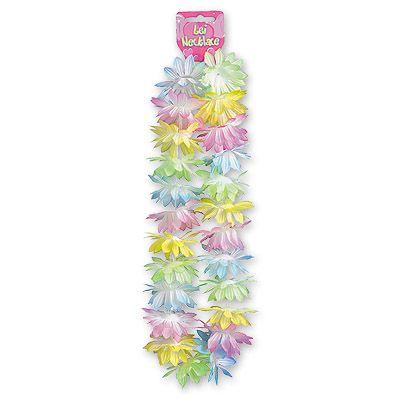 Гавайи Цветы пастель 66см