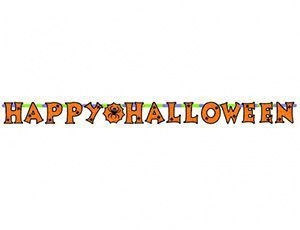 Гирлянда-буквы Хэллоуин