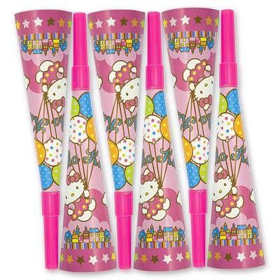 Горн Hello Kitty 8 штук