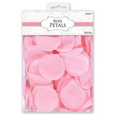 Лепестки Свадебные розовые 300 шт.