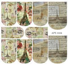 Слайдер-дизайн для ногтей № 0104