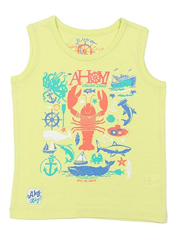 Майка для мальчика Морская сказка