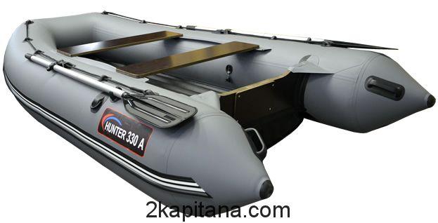 Лодка с надувным дном Хантер 330 А НДНД