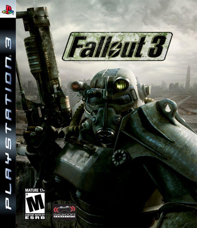 Игра Fallout 3 (PS3, русская версия)