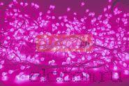 "Гирлянда ""Мишура LED"" 3 м 288 диодов, цвет розовый"