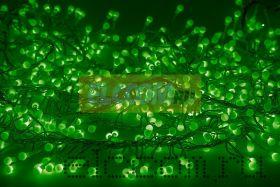 """Гирлянда """"Мишура LED"""" 6 м 576 диодов, цвет зеленый"""